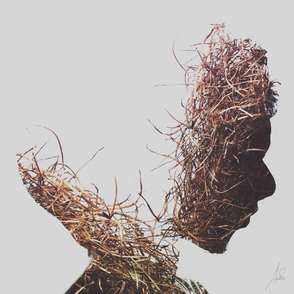 Scarecrow II WeAreJuxt.com Portrait Series IPhoneography Surrealism Shootermag