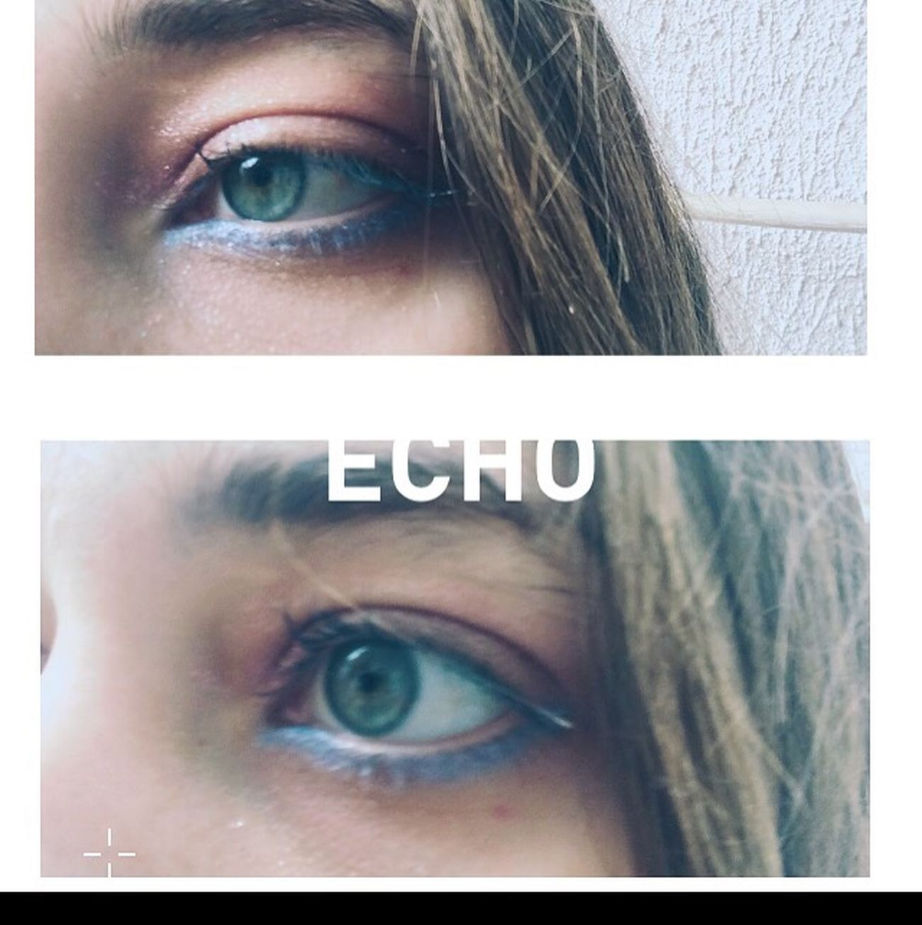 Echo Blue Eyes Gliter