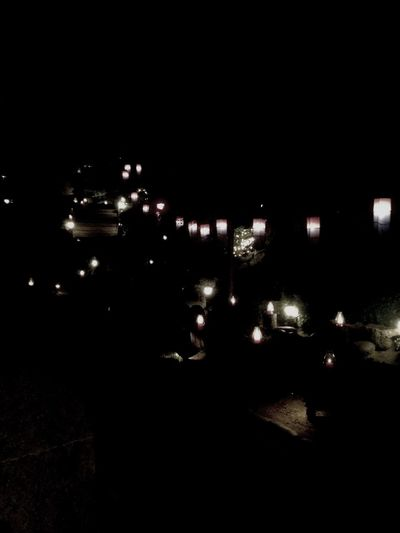Candle Light 간만에 옛터! 밤에보니 예쁘구나!!