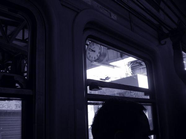 Black & White Cruda  Ferrocarril Lanus Longchamps Roca Showcase: January Train