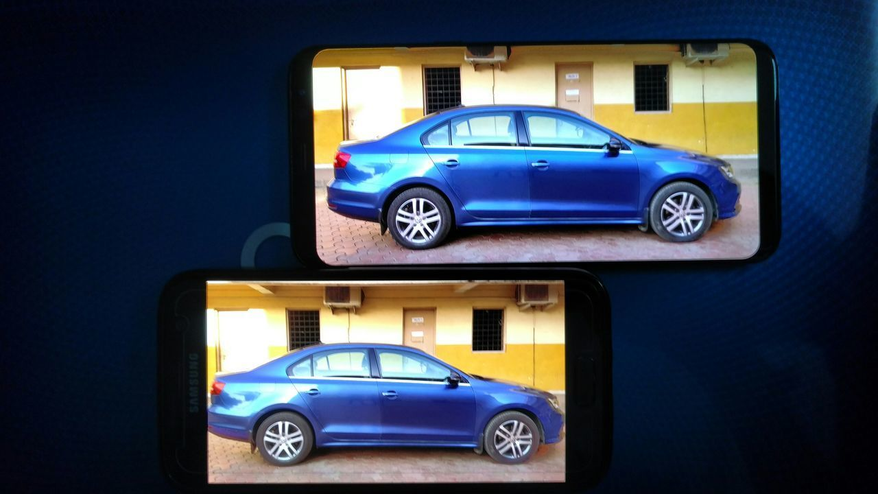 Car Blue Inmobile Smartphone
