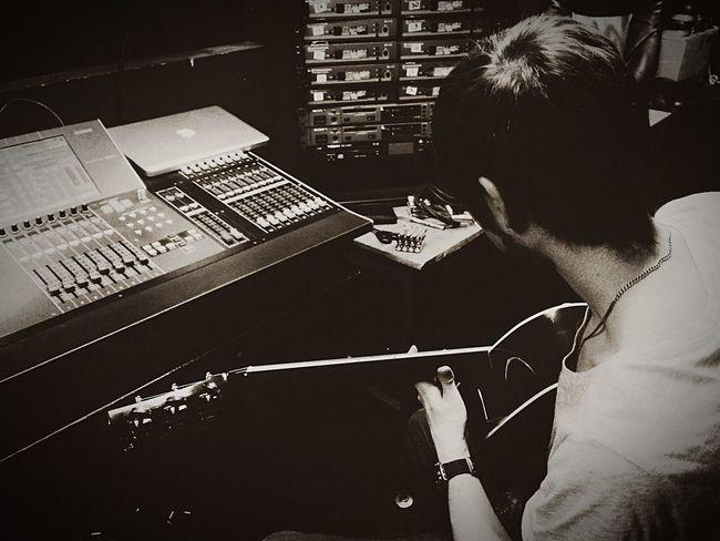 Theater Atwork Guitar Yamaham7cl Sound Soundengineer First Eyeem Photo