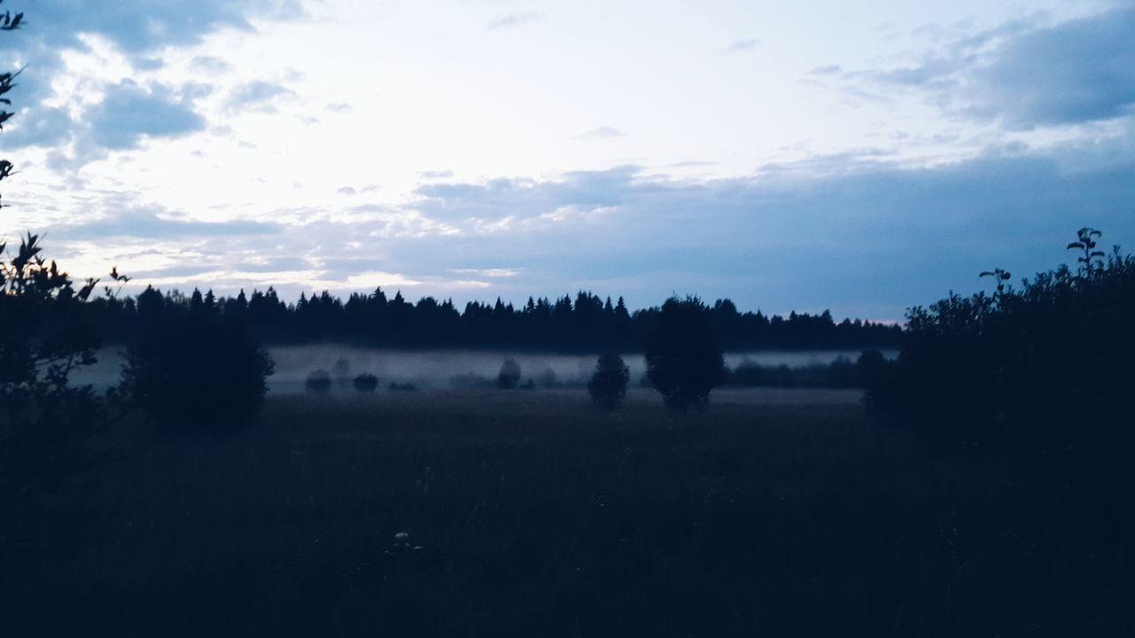 Beautiful stock photos of sunrise, Beauty In Nature, Cloud, Field, Fog