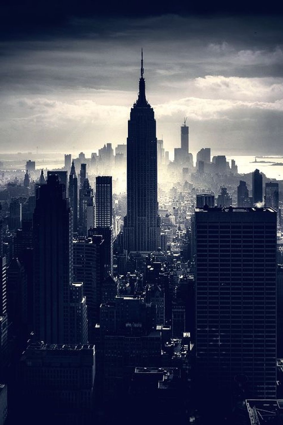 New York Skycrapers Mahnattan The Best City In The World ??
