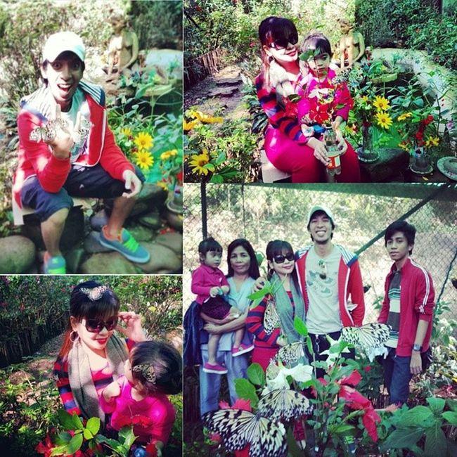 Flashback friday.. literally! (Last friday lang to) Butterflyfarm Cjh Cityofpines FBF  iara @alyas_bosyo