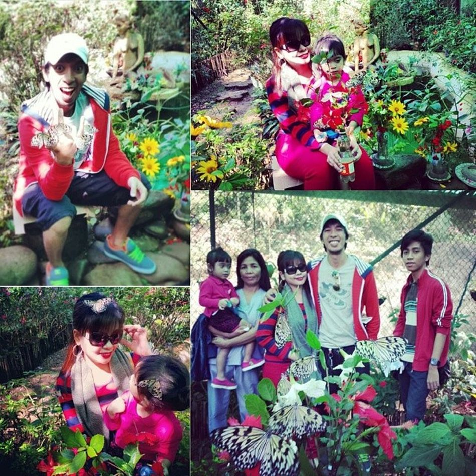 Flashback friday.. literally! (Last friday lang to) Butterflyfarm Cjh Cityofpines FBF  iara @alyas_bosyo