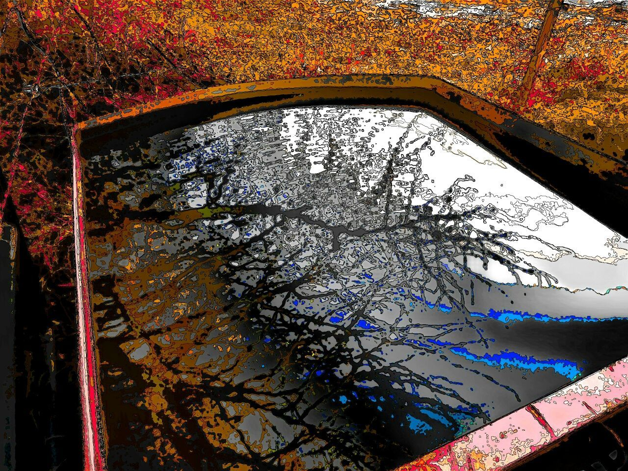 autumn, tree, leaf, no people, nature, growth, day, architecture, water, outdoors, close-up