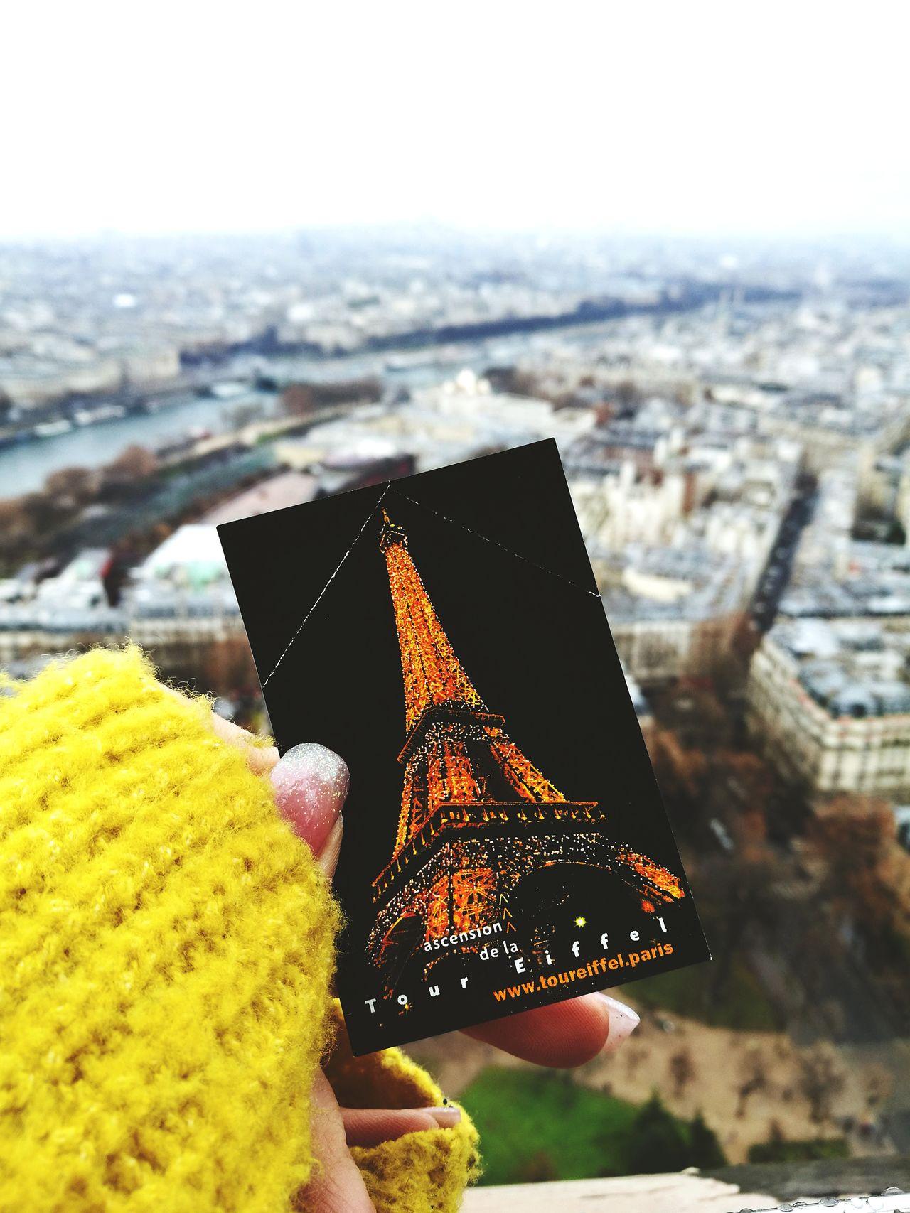 Close-up Day Sky Love Paris ❤ Tour Eiffel, Paris. Cloud - Sky Fog Architecture Scenics EyeEm Best Shots EyeEmNewHere History Cultures Light Effect Tranquil Scene Freshness
