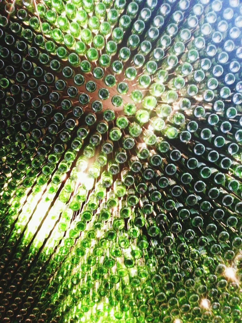 Nandos ceiling Nandos Nandos Ceiling Beer Bottle Glass Bottle Ceiling Roof London Nando's London