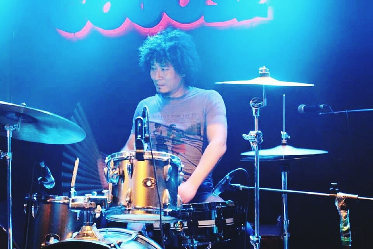 Drummer K-POP Rock Hello World Relaxing My Freands Wonderful Enjoying Life Heart