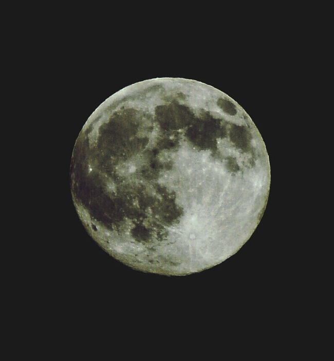 The thing that orbits earth Nikon D3200 Full Moon Mr. Moon