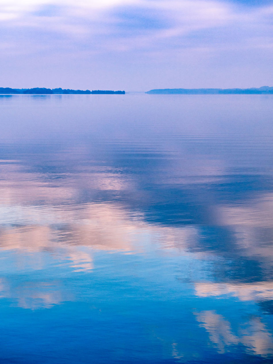 Loch Deirgeirt Lough Derg Ireland Lake Water Reflection Blue Sky No People Beauty In Nature Multi Colored Nature Outdoors Horizon Over Water Day Landscape Lough Tranquility Landscapes Backgrounds Abstract Lightroom & Nik Colourful