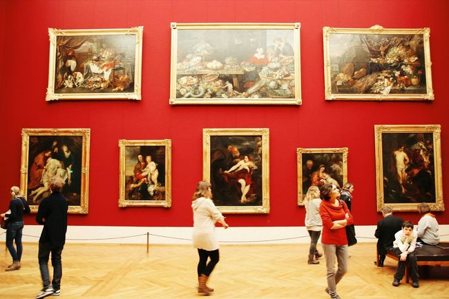 Pictures of an exhibition. Munich mu Art Artwatchers Museum Painting Discovering Great Works