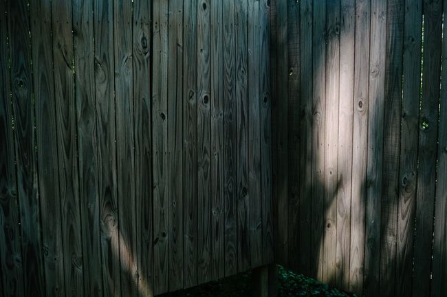 Somerset,KY. 2015 Light And Shadow Light Shadow Teal Orange Color Orange Fence Backyard Summer Xpro1 Fujifilm