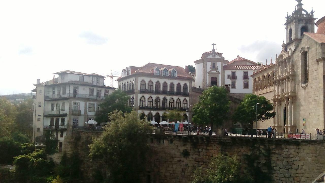 Church of São Gonçalo de Amarante, romantic city