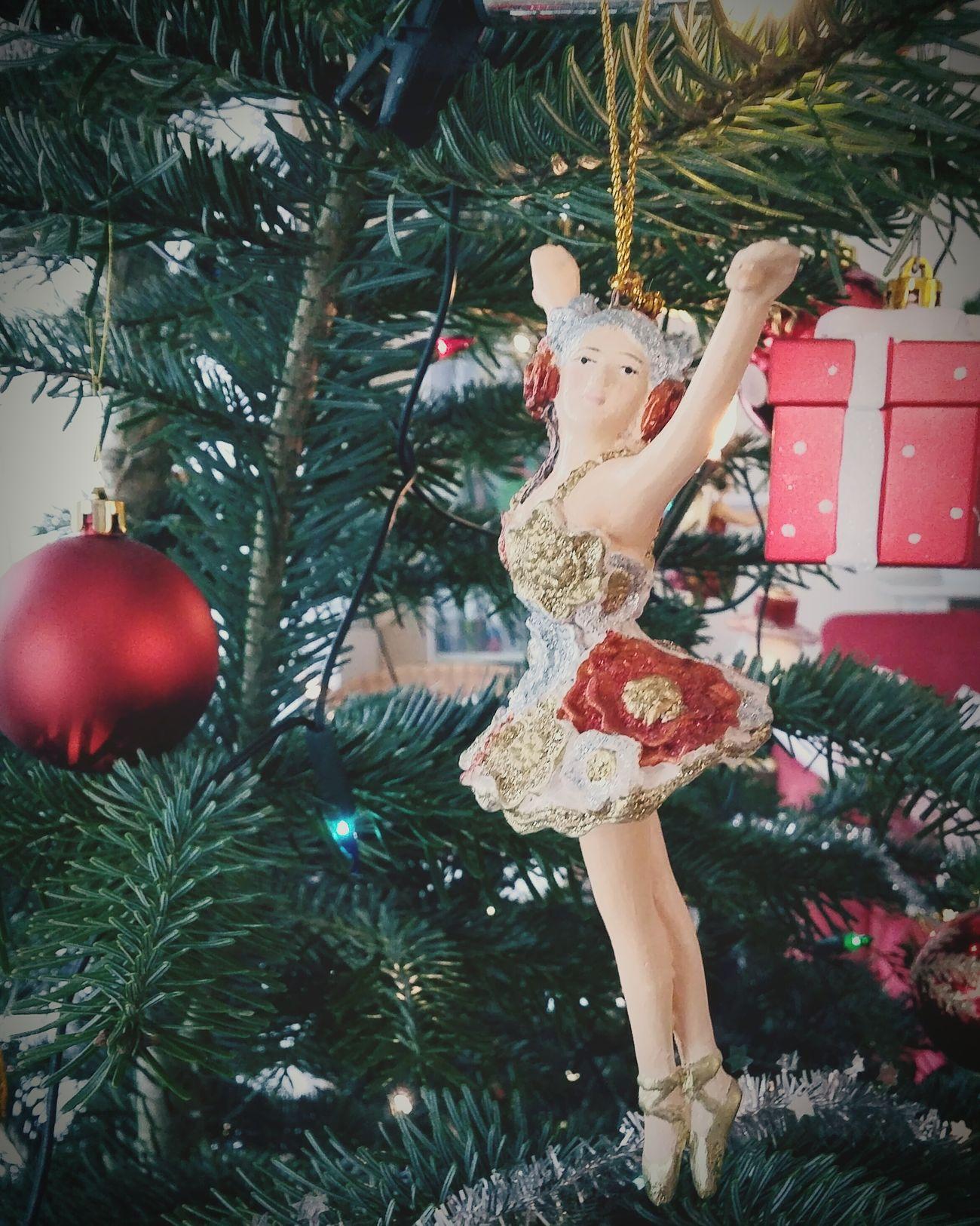 Christmas Decorations Dancer Christmas Tree Christmastime Weihnachten Xmas Tänzerin Christbaum Ballerina Pastel Power
