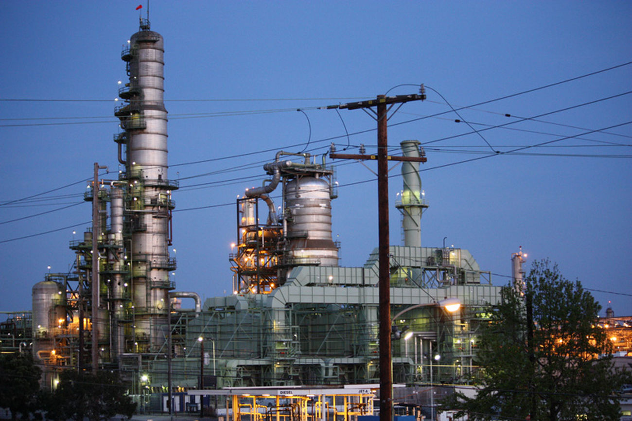 Architecture Chevron El Segundo, Ca Factory Fuel And Power Generation Los Angeles, California No People Oil Refinery Outdoors Petrochemical Plant Refinery Sky