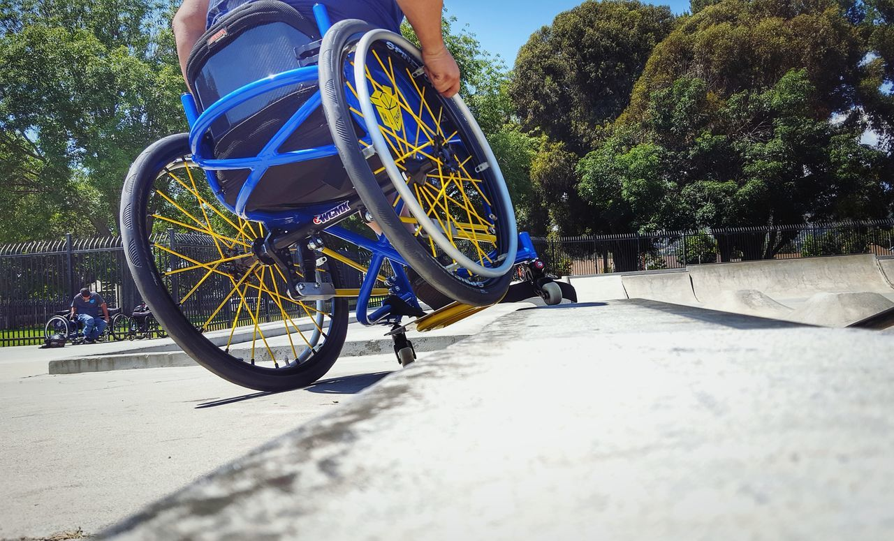 Grinding The Blue Angel At Camarillo Skate Park During All Day Skate Sesh ThatsMe Selfies Extreme Sports Wcmx SocalwcmxAdaptive Sports Disabled Veteran Skate Grinding Skate Park Skater Lifestyles Never Give Up Wheelchairselfie Skateboarding Let's Go. Together.