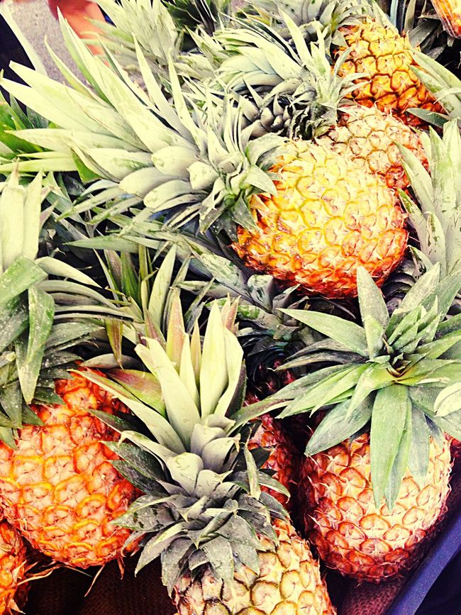Fruits Galore pineapples love Fresh Produce Enjoying Life Enjoying The Sun The Foodie - 2015 EyeEm Awards