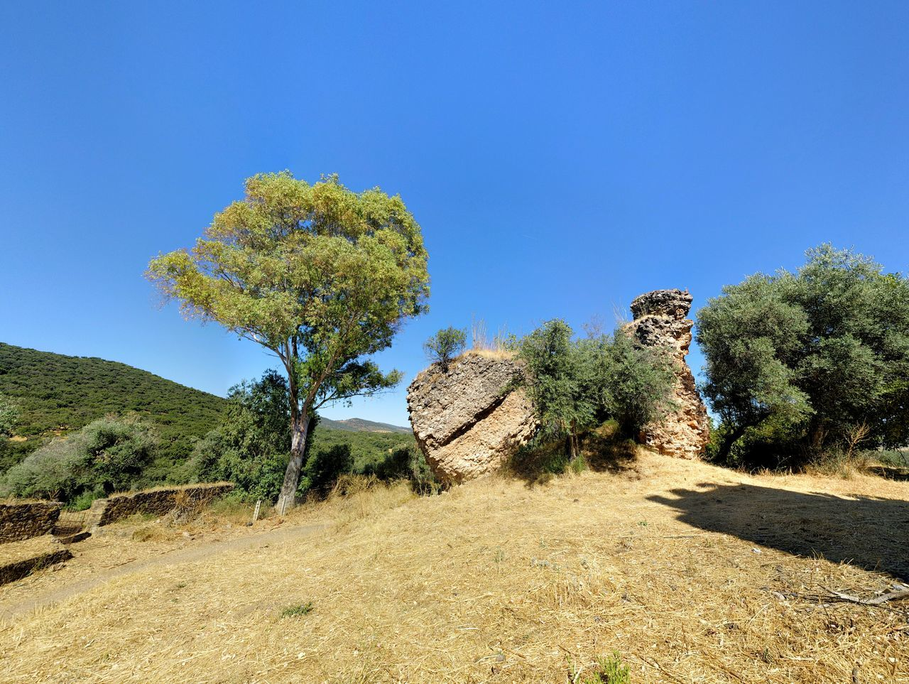 Ruins of the Beltraneja Castle ⏺ Ruinas del Castillo de la Beltraneja La Codosera Ruins Ruinas Castle Castillo Beltraneja Extremadura SPAIN España Summer Verano Agoust Agosto 2016