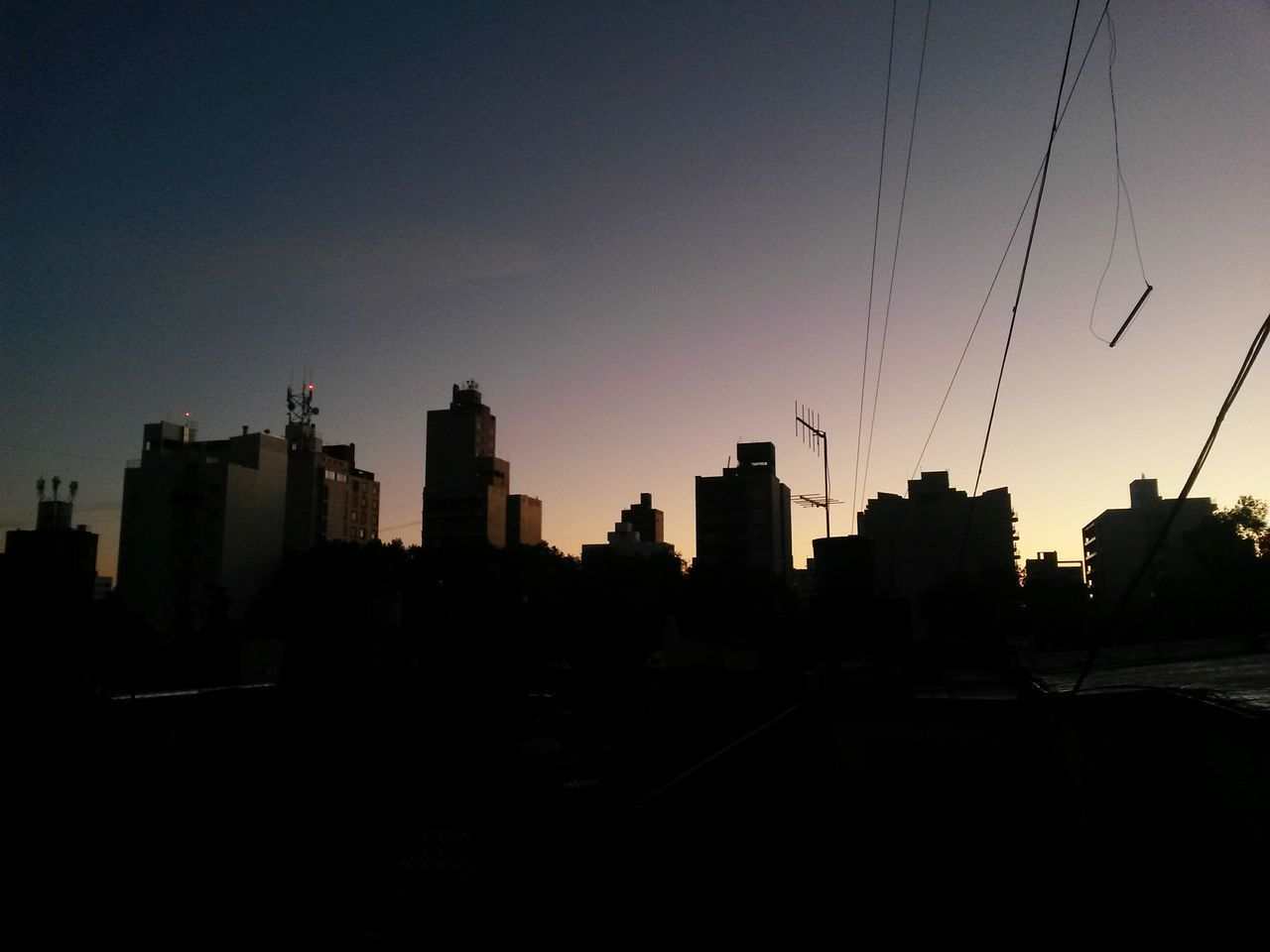 Good morning autumn Urban Skyline Silhouette City Outdoors No People Sky Cityscape Sunrise Sunrise Silhouette Sunrise City Buildings Autumn Sky
