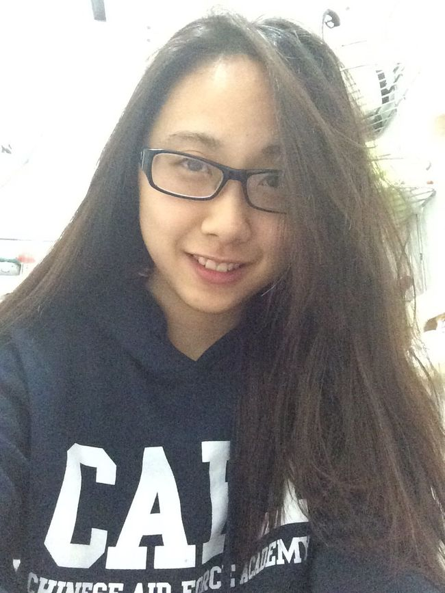 Makeupless No Makeup at Home Take A Rest after Working All Day  with Glasses Smile Selfie