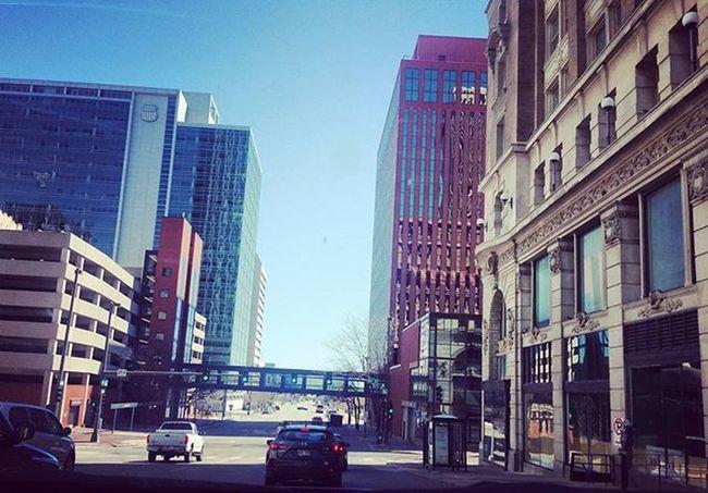 April 3rd: goodbye Omaha, it was fun! Headinghome 30before30 Omaha Nebraska Downtown Downtownnebraska Sonebraska City Fun Oldmarket