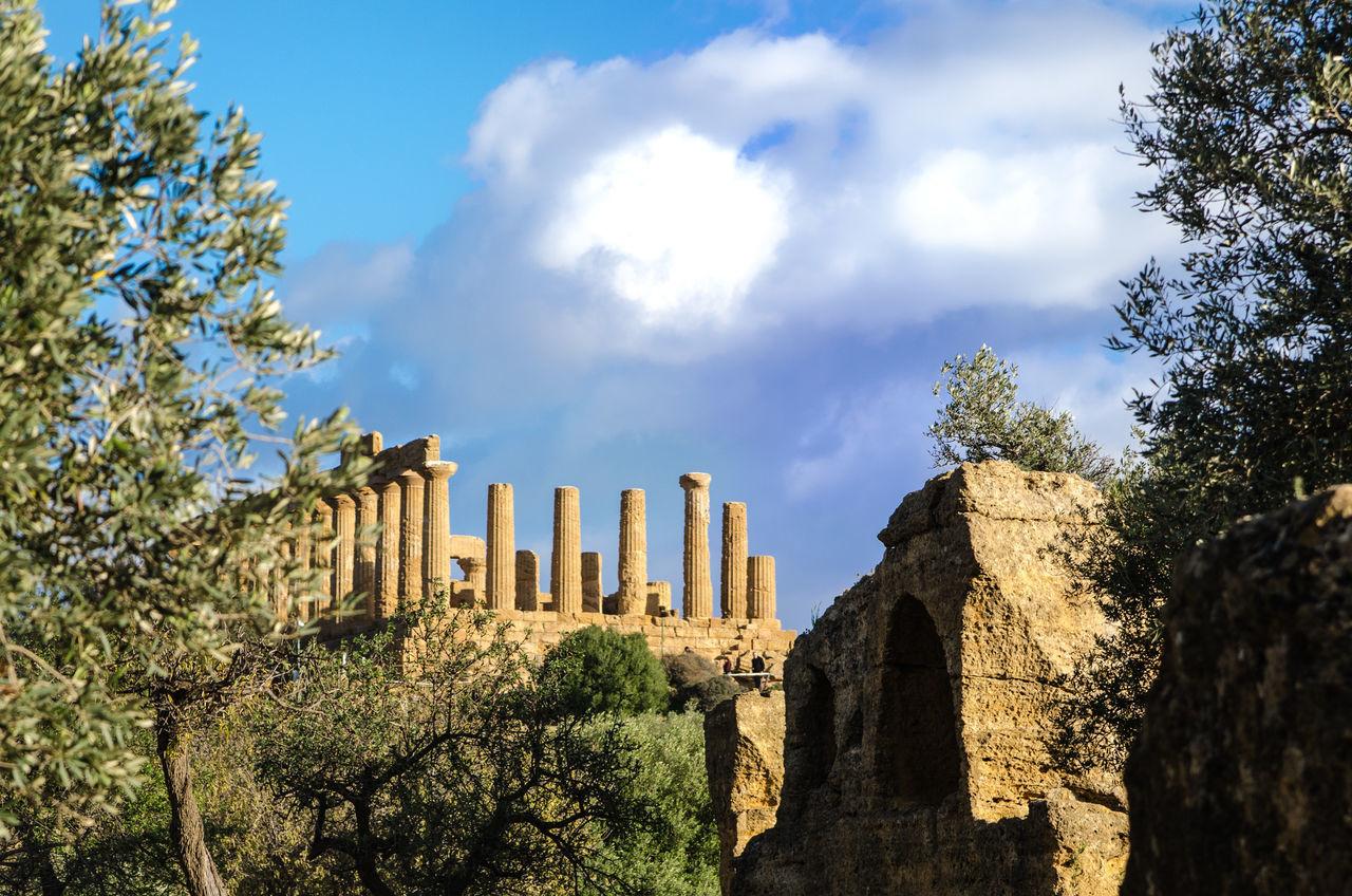 Agrigento Ancient Civilization Architecture Architecture Greek History History Architecture Italy Romanic Sicilia Sicily Sky Travel Destinations Valle Dei Templi