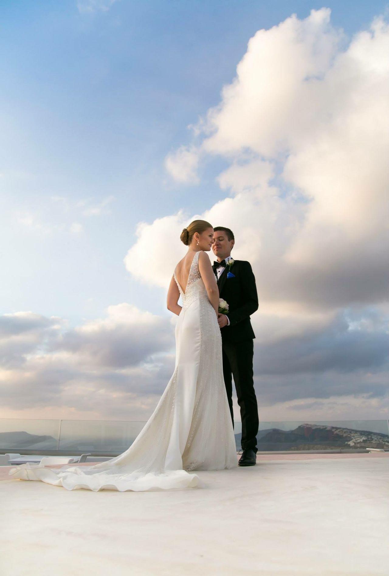 Beautiful stock photos of griechenland, 25-29 Years, Bonding, Bride, Bridegroom