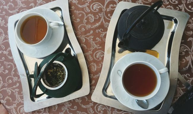 Tea Tea Time Tea Is Healthy Two Is Better Than One Cups And Mugs Morning Rituals A Bird's Eye View