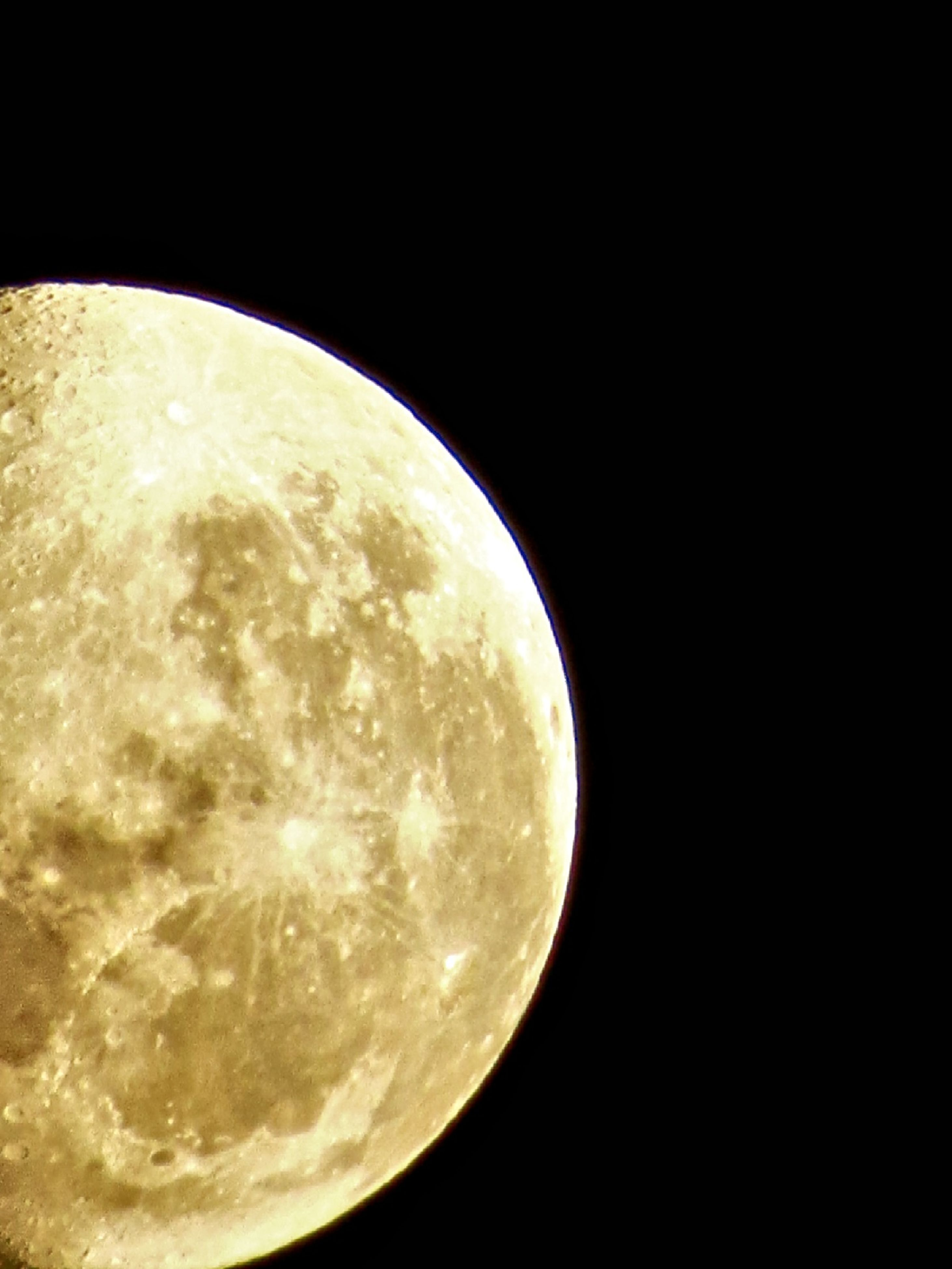 astronomy, moon, night, circle, moon surface, planetary moon, dark, beauty in nature, copy space, space exploration, nature, full moon, tranquility, tranquil scene, sky, scenics, low angle view, discovery, close-up, no people