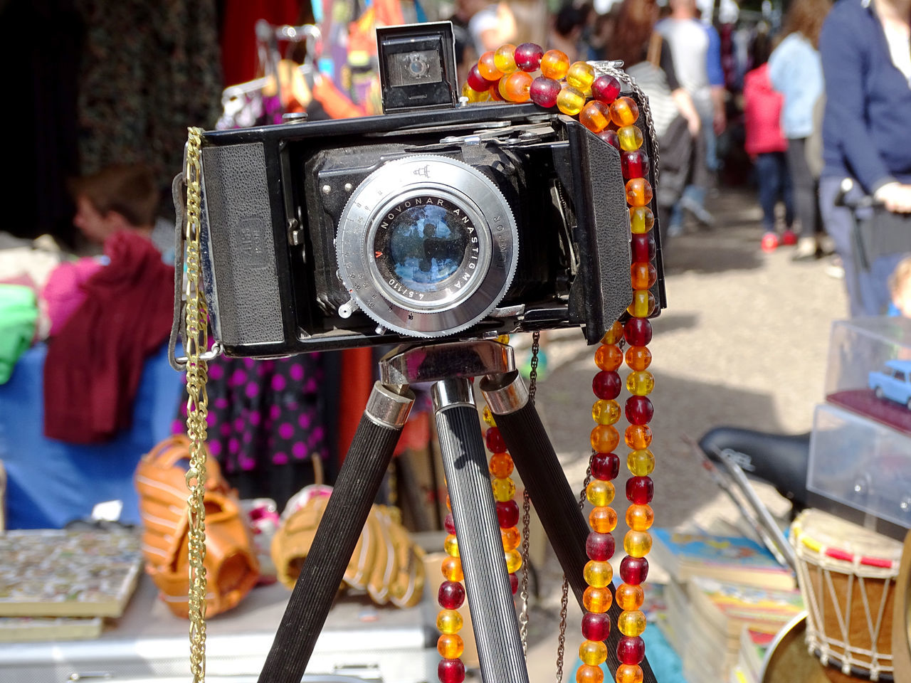 focus on foreground, day, technology, men, outdoors, camera - photographic equipment, close-up, people