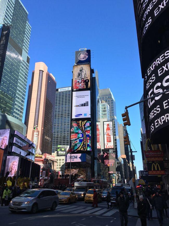 New York New York City Newyork IPhone IPhoneography America USA TimesSquare Times Square NYC Picoftheday Nicola Nelli