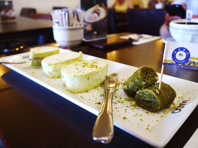 Baclava Ice Cream Cookies Pistachio Turkey Panasonic  Microfourthirds Mirrorless Lumix