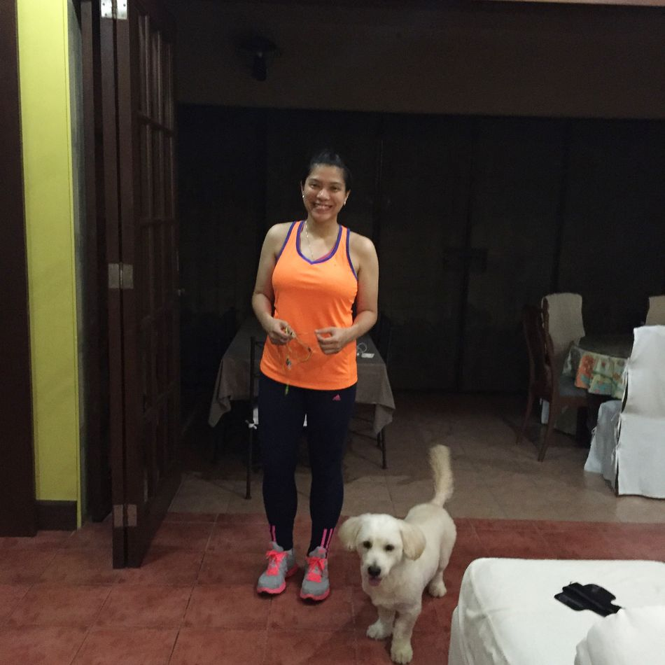 Better For It Nike Night Run Goldendoodle Snapshots Of Life