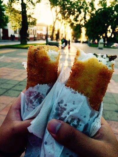 Hand Roll Food