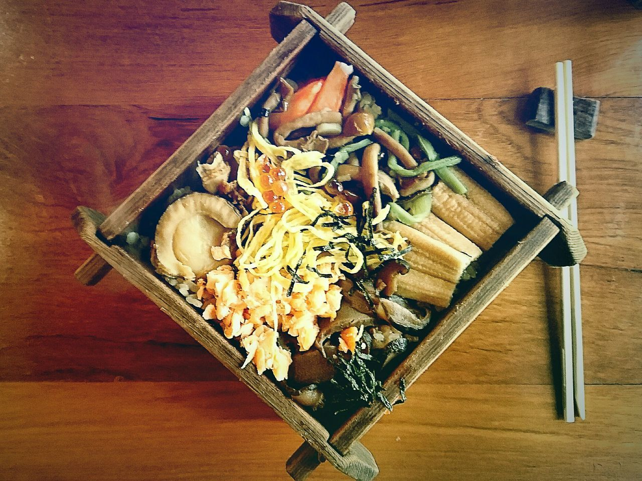 Rice Box Food Photography Unique Healthy Lifestyle Healthy Life Healthy Diet Healthy Eating Yummy Grateful Delicious Special Moment Menu Choice Inspirations Japanese Food Feel The Journey Food Art Food Plating Passion EyeEm Best Edits EyeEm Gallery Harmony Hungry Bangkok Eyeem Market Sashimi Dinner