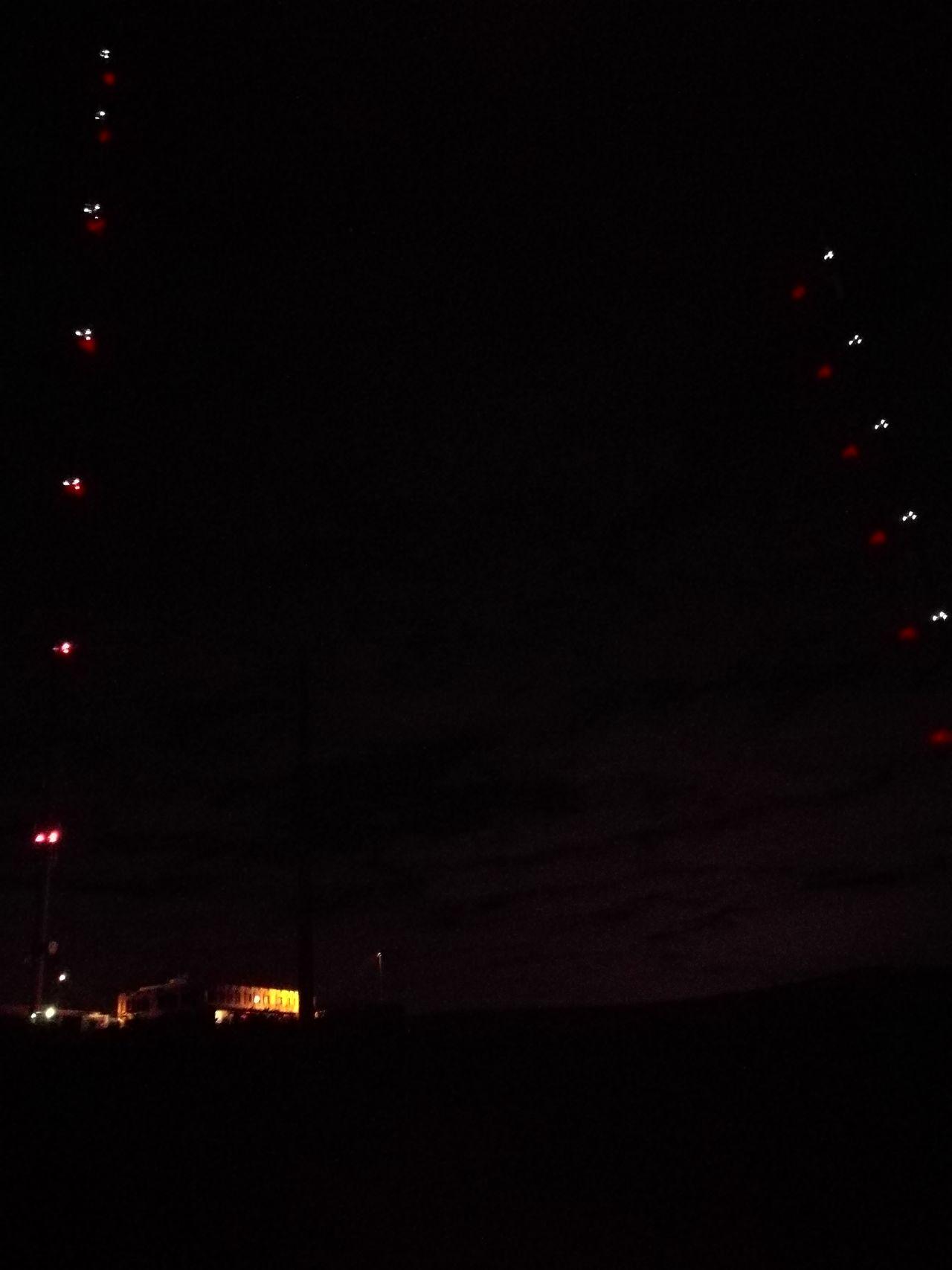 Illuminated Astronomy Night Outdoors Pillons