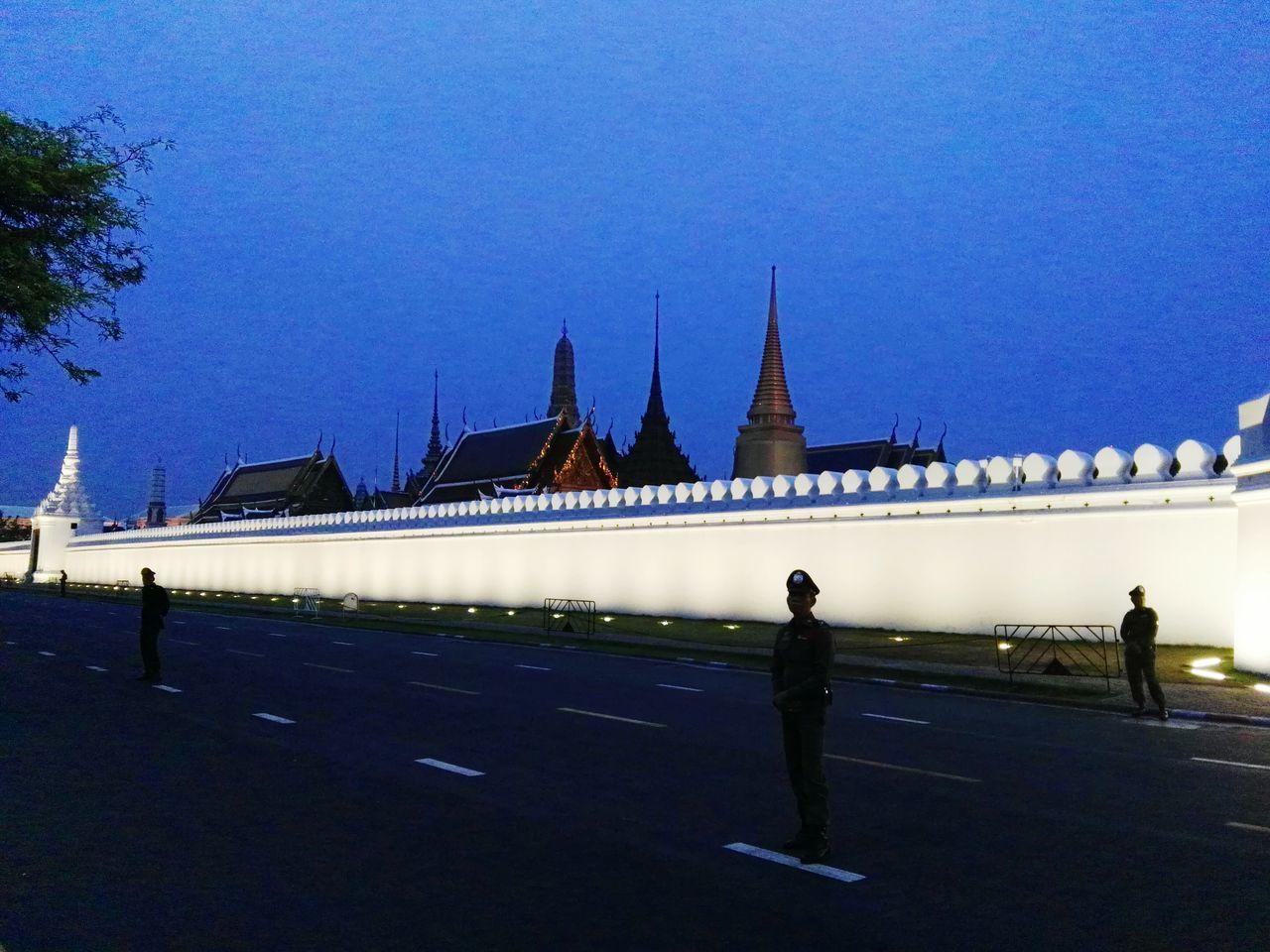 Sky Tourism Tourist Sadness King King Bhumipol Adulyadet Grand Palace Bangkok Thailand