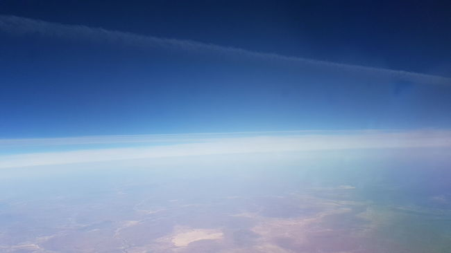 Scenics Tranquil Scene Beauty In Nature Blue Tranquility Aerial View Idyllic Cloudscape Nature Majestic Sky Cloud Water The Natural World From An Airplane Window Remote Day Cloud - Sky Non-urban Scene Ethereal God's Beauty On Display In His Creation