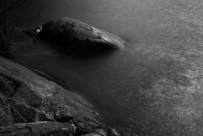LP. Art Beauty In Nature Black And White Blackandwhite Day Fine Art Idyllic Nature Niklasskur No People Non Urban Scene Non-urban Scene Outdoors Popular Photos Remote Rock Rock - Object Rock Formation Scenics Sky The Great Outdoors - 2016 EyeEm Awards The Great Outdoors With Adobe Tranquil Scene Tranquility Water