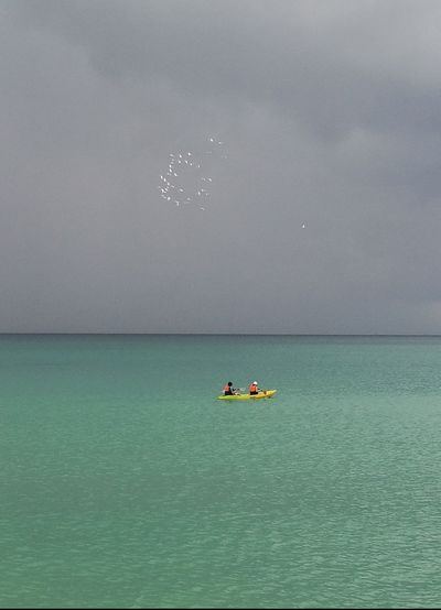 Adventure Time Cayaking Sea And Sky Vacation