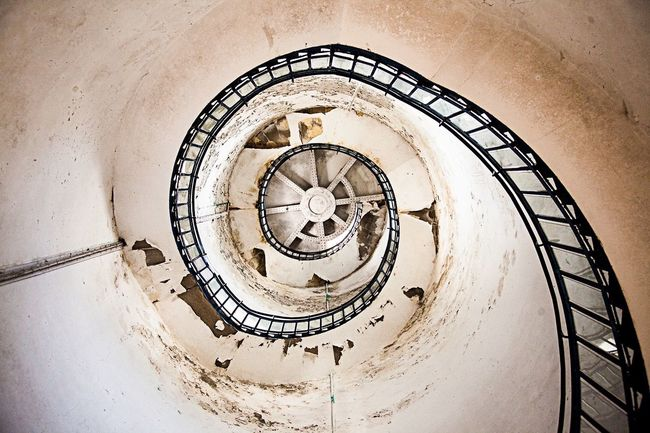 Spiral Staircase Lighthouse Urban Geometry HDR
