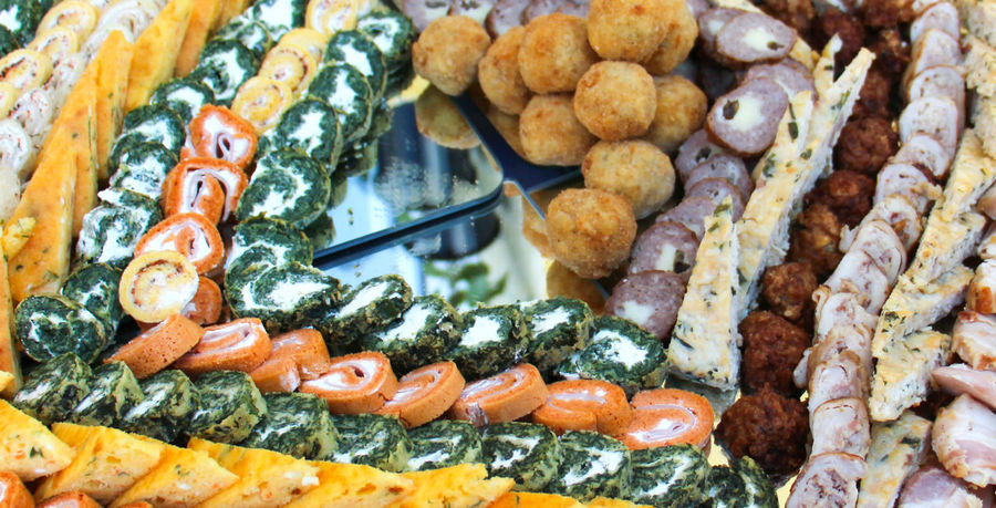 catering Catering Food Catering Service Close-up Day Delicatessen Event Food Food And Drink Freshness Healthy Eating Meat Ball Meat! Meat! Meat! No People Pork Ready-to-eat Rolled Seafood