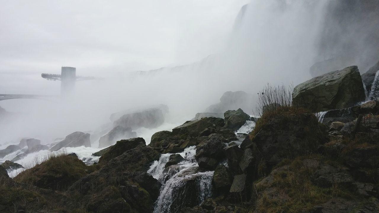 Beautiful stock photos of niagara falls, Beauty In Nature, Cloud - Sky, Day, Flowing Water