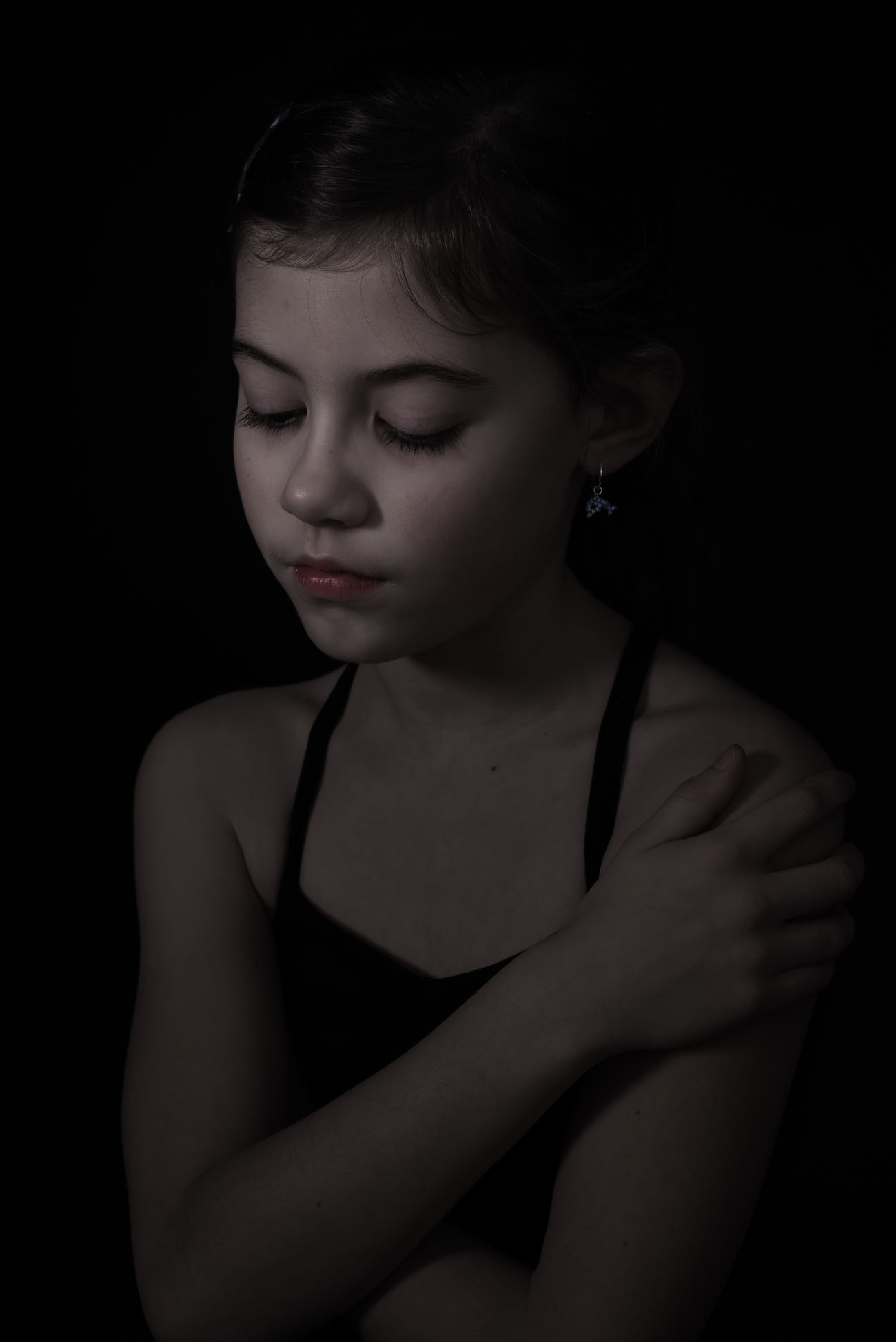 Girl Rembrandt Light Softness Fragility Nikonphotography Photographer Josienvangeffen