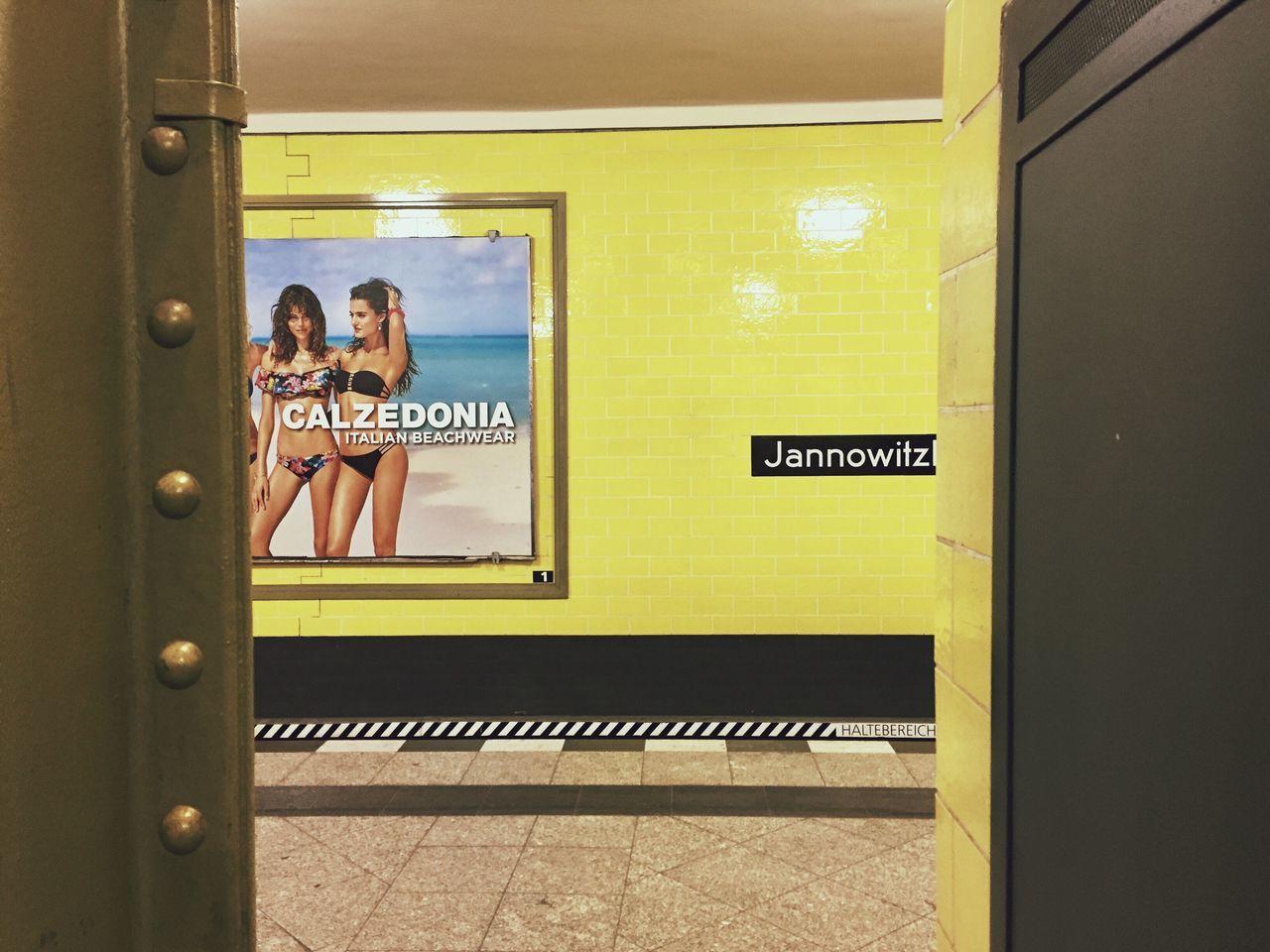 Transportation Yellow Public Transportation Subway Subway Station Lifestyles Women Urban Geometry Urban