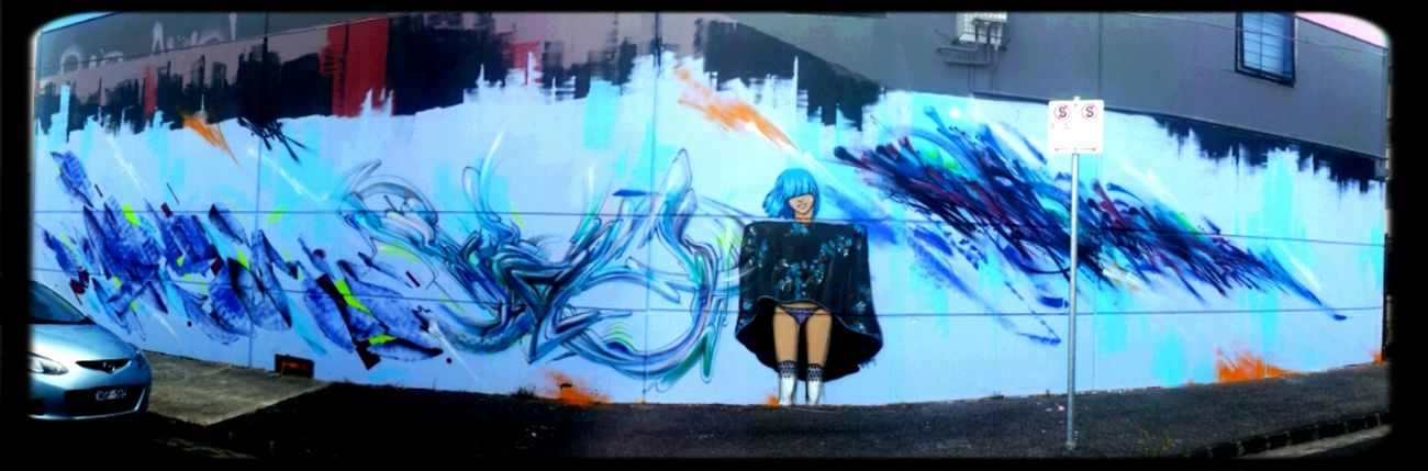 Streetart Slicer Lucy Lucy AWOL Crew Deams