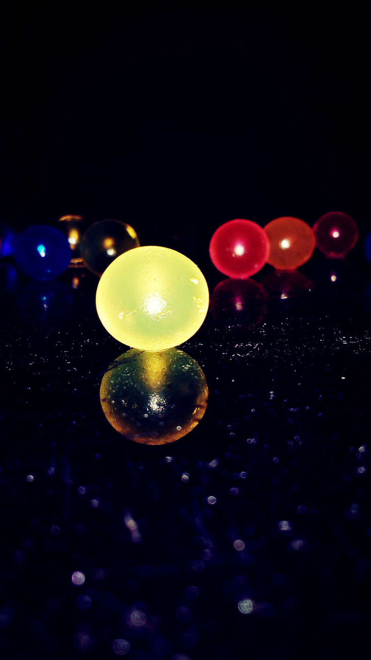 Abstract Photography Water Balls Photography Love