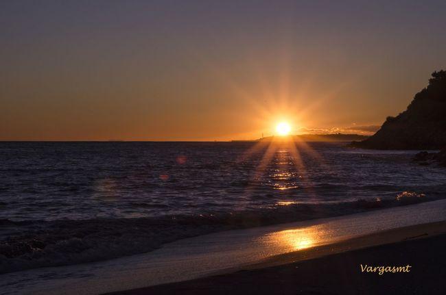 Sunset Puesta De Sol Beach Photography Reminds Roc De Sant Gaietà Catalunya